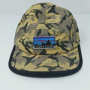 Patagonia Unisex Camo Cap Hat Very Rare Vintage